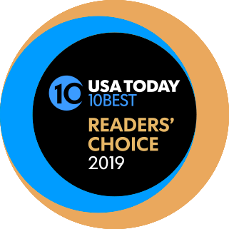 USA Today 10Best Readers' Choice 2019
