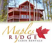 Maples Ridge Cabin Rentals