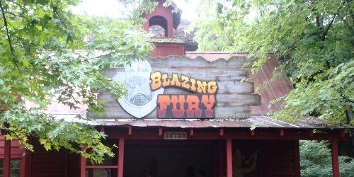 Blazing Fury, Dollywood by Martin Lewison