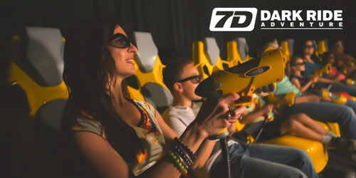 Ad - 7D Dark Ride Adventure: Click to visit website