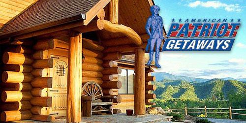 American Patriot Getaways Pigeon Forge Cabin Rentals