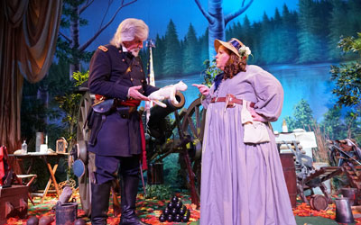 Christmas at Buttonwillow Civil War Theater: Click for event info.