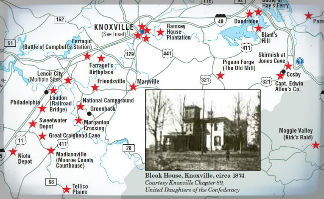 tennessee civil war trails