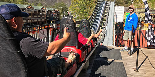 Gatlinburg Mountain Coaster Info: Click to visit page.