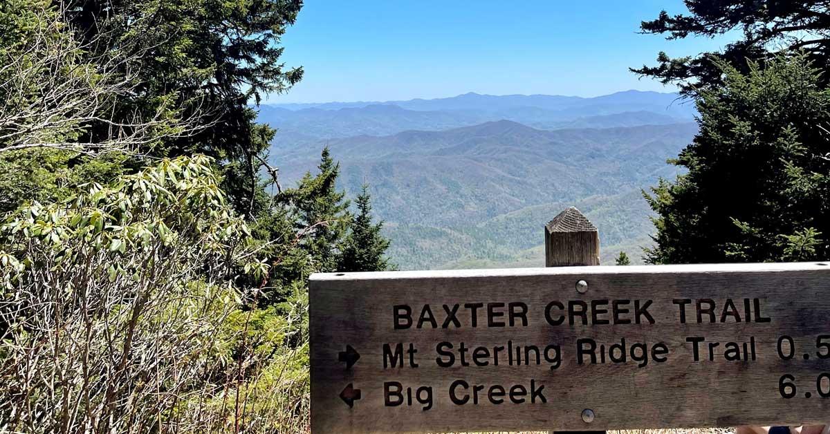 Baxter Creek Trail (Mt. Sterling)