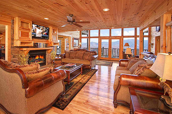 Mansion In The Sky Vrbo Private Rentals Pigeonforge Com