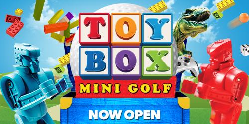 toy box mini golf