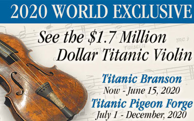 Wallace Hartley's Violin at Titanic Museum: Click for event info.