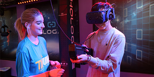 Virtual Reality At TopJump: Click to visit page.