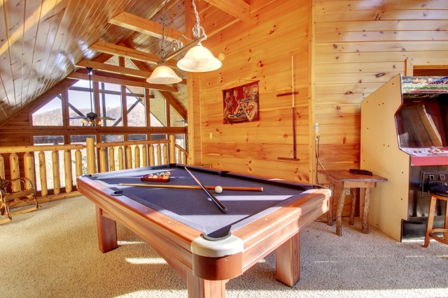 Pigeon Forge Cabin Rentals with Game Rooms