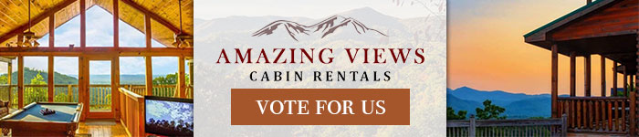 Ad: Click to vote for Amazing Views Cabin Rentals