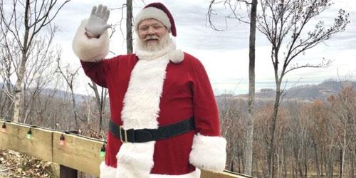Santa Visits Anakeesta: Click to visit page.