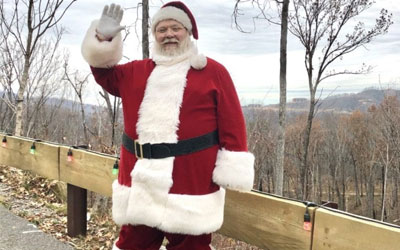 Santa Visits At Anakeesta: Click for event info
