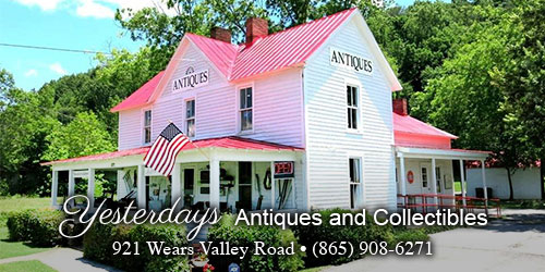 Ad - Yesterdays Antiques & Collectibles: Click to visit website