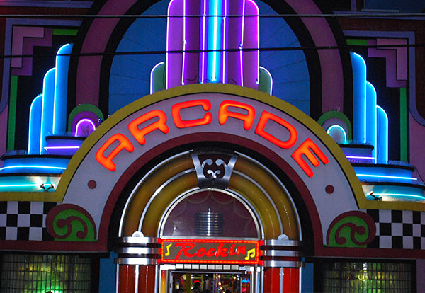 Click to visit arcades page.