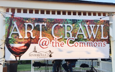 Art Crawl At The Commons: Click for event info.
