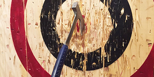 What Is Axe Throwing