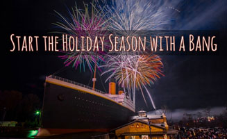 Start The Holiday Season With A Bang At The Titanic Museum