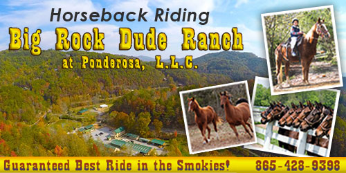 Ad - Big Rock Dude Ranch: Click to visit website