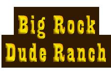 Big Rock Dude Ranch logo