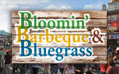 Bloomin' BBQ & Bluegrass: Click for event info.