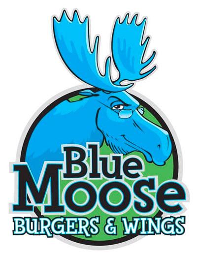 Blue Moose Burgers & Wings logo