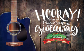 Christmas In The Smokies Bluegrass Festival Giveaway: Click to read more.