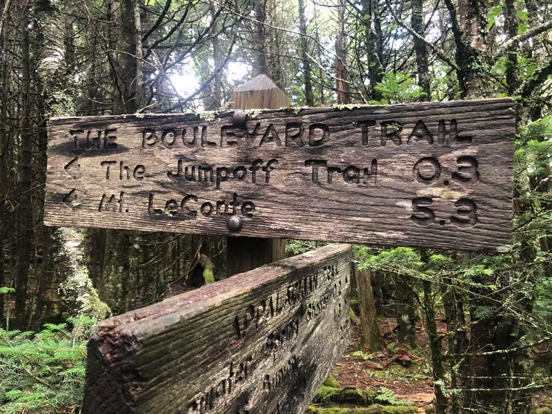 Charlies Bunion via Appalachian Trail