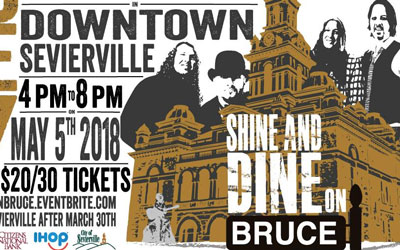 Shine and Dine On Bruce 2018 @ Bruce Street Gazebo   | Sevierville | Tennessee | United States