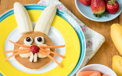 Breakfast or Brunch with the Easter Bunny: Click for event info.