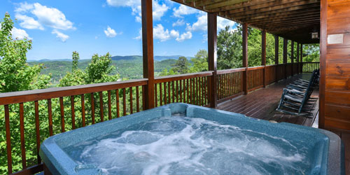 Smoky Mountain Cabins: Click to visit page.