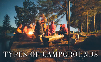 Smoky Mountains Camping: Types Of Pigeon Forge Campgrounds: Click to read more