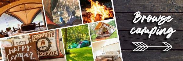 There's more than one way to go camping. Click to read more.