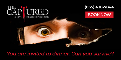 Ad - The Captured – A Live Escape Experience: Click to visit website