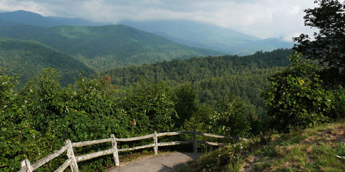 scenic drives in the smoky mountains