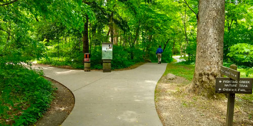 Stroller Friendly Hikes: Click to visit page.