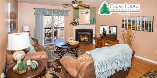 Ad - Cedar Lodge Condominiums: Click to visit website