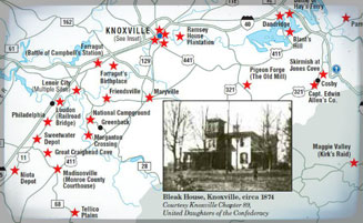 East Tennessee Civil War Trails: Click to read more