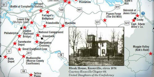 Civil War In Sevier County: Click to visit page.