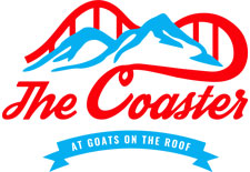 The Coaster At Goats On The Roof logo