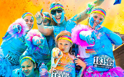 Titanic Color Run @ Titanic Museum & Attraction  | Pigeon Forge | Tennessee | United States