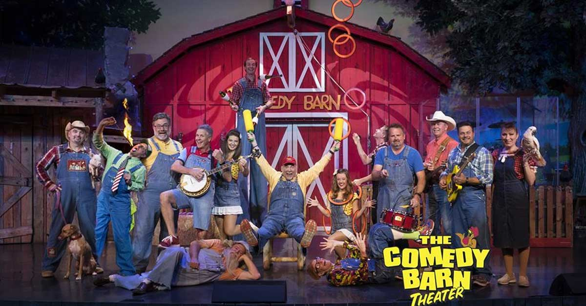 The Comedy Barn Theater Pigeon Forge Shows Amp Dinner