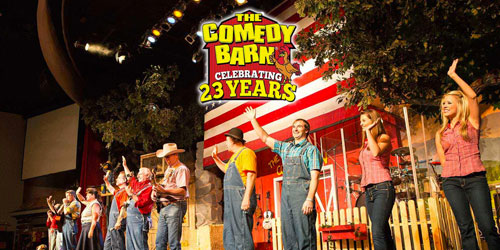 The Comedy Barn Theater: Click to visit page.