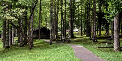 Reserve Cosby Campground: Click to visit page.