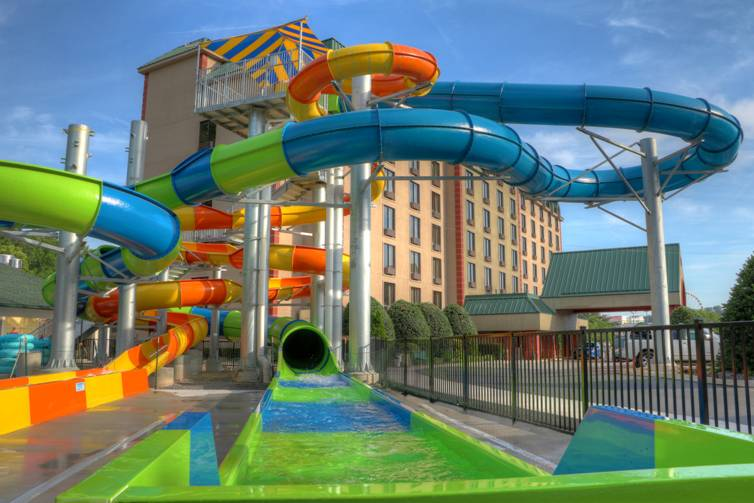 Country Cascades Waterpark Resort, Pigeon Forge, TN
