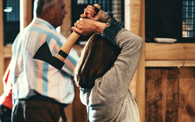 Fall Axe Throwing League: Click for event info