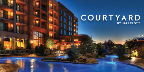 Ad - Courtyard by Marriott Pigeon Forge: Click for website