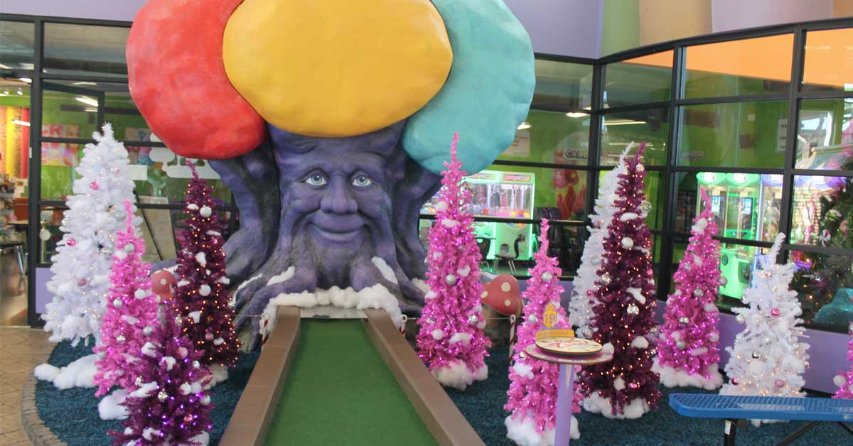 Pictures With Santa At Crave Golf Club: Click to read more