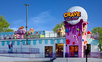 Crave Golf Club: Voted Best Mini Golf In Pigeon Forge: Click to read more