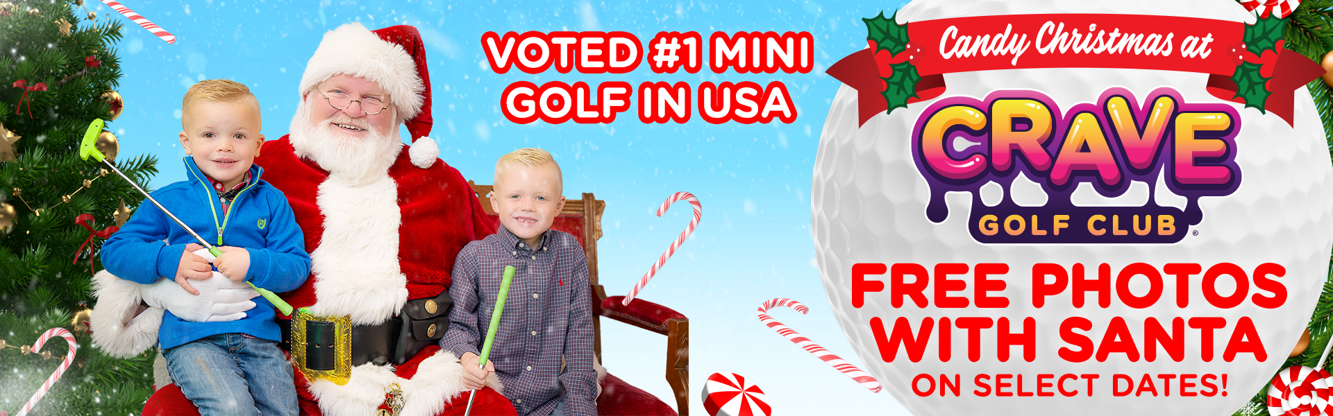 Ad - Visit Crave Golf Club Website